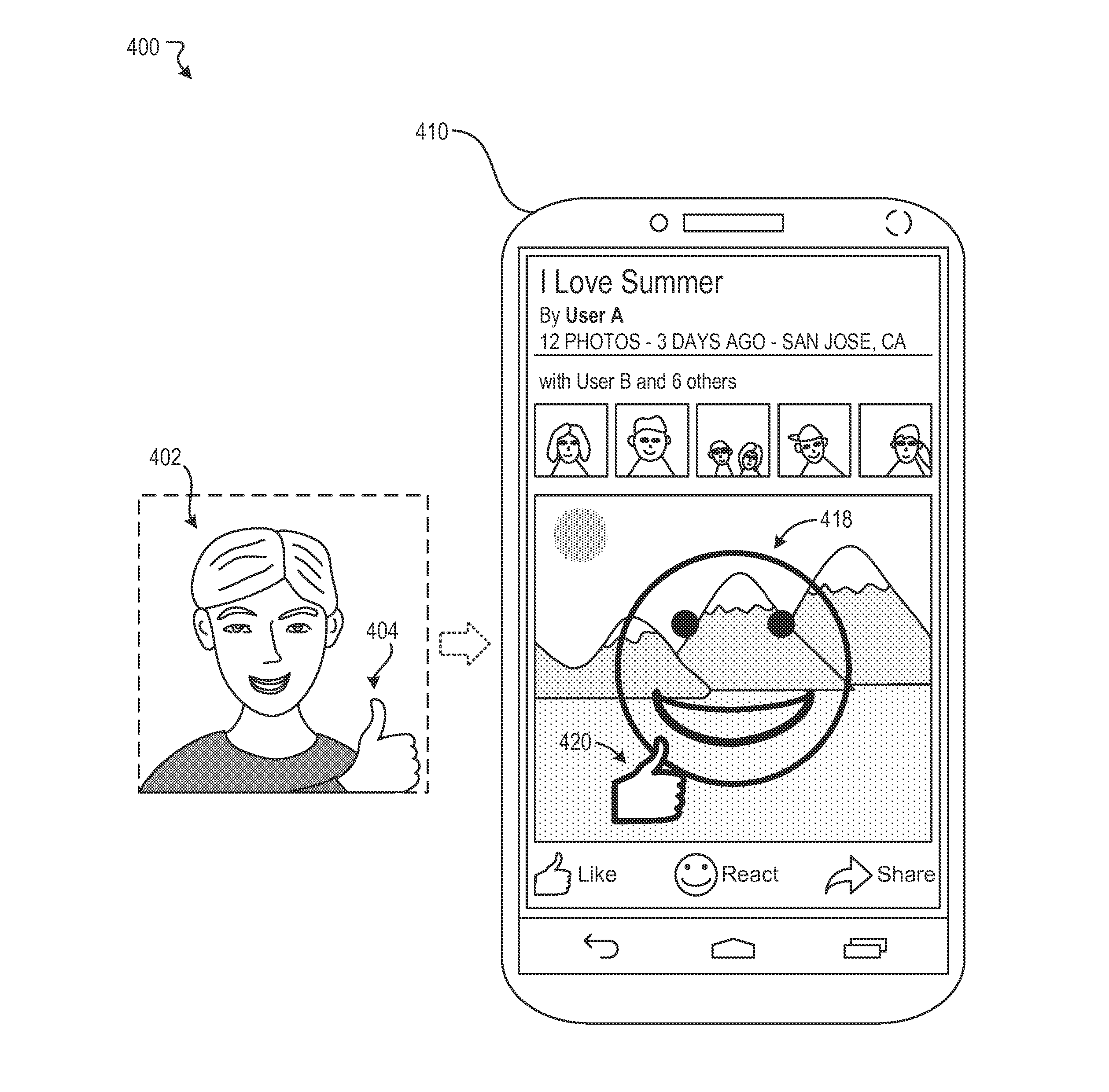 Systems and methods for dynamically generating emojis based on image analysis of facial features  - US-2017140214-A1