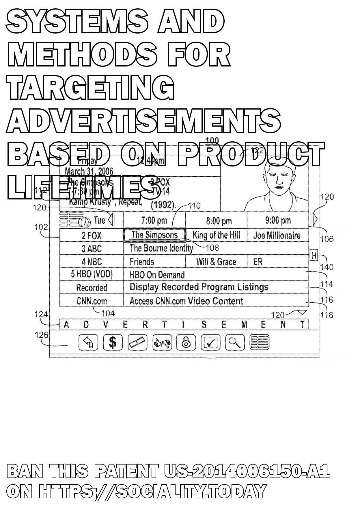 Systems and methods for targeting advertisements based on product lifetimes  - US-2014006150-A1